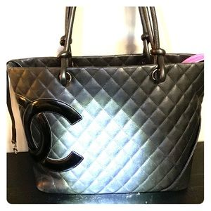 Chanel Cannon Lambskin Tote